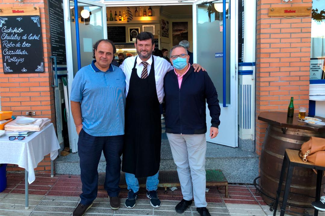 """""""Estrellas de La Mancha"""" hace parada en el restaurante Acrópolis de Toledo"""